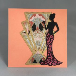 Greeting card Pink lady